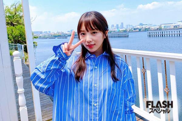 FLASHスペシャルグラビアBEST 2020年初夏号 与田祐希 オフショット3