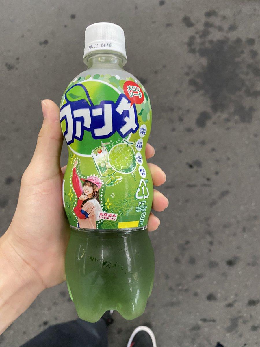 ファンタ メロンソーダ 乃木坂46デザインパッケージ 齋藤飛鳥3