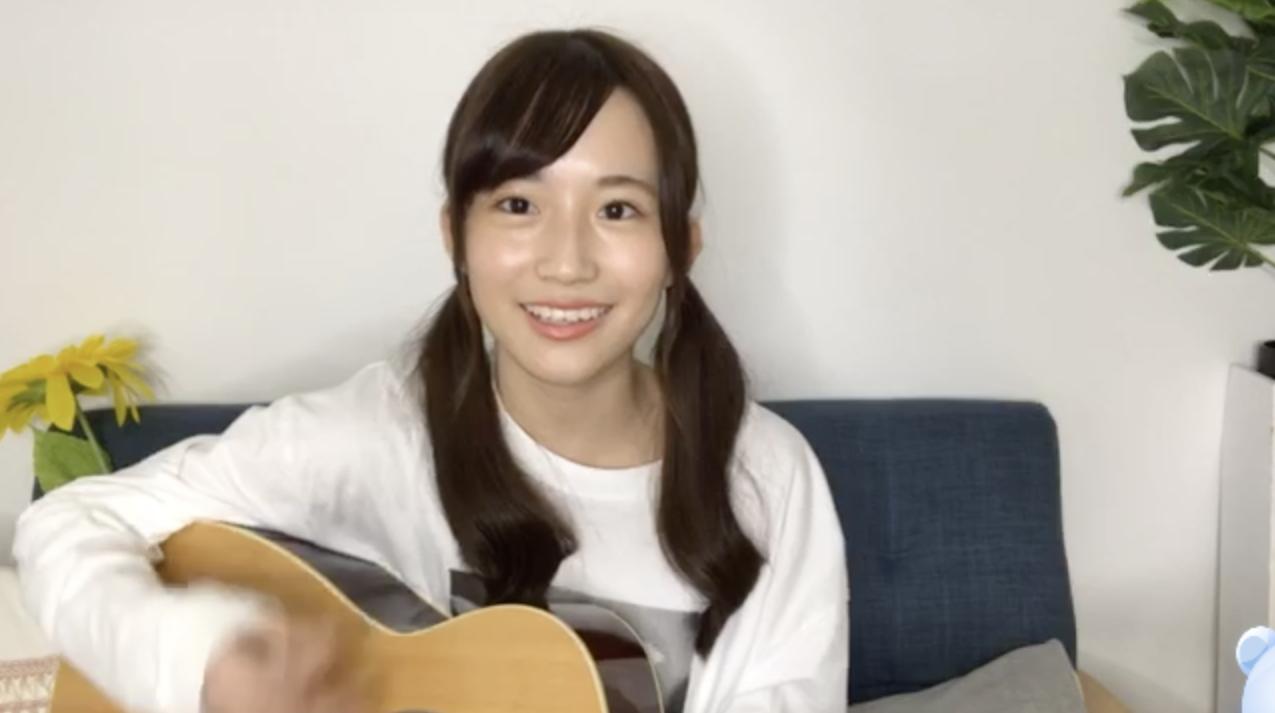 【のぎおび】掛橋沙耶香、「失いたくないから」「やさしさとは」をギター弾き語り
