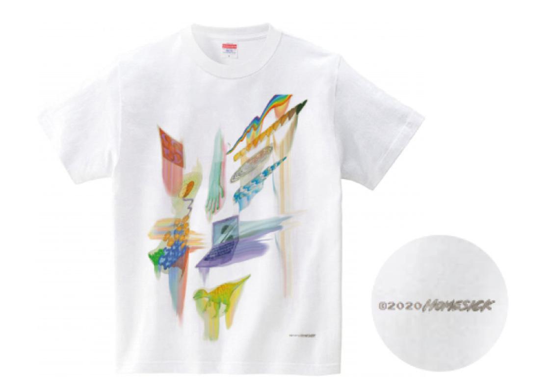 伊藤万理華EXHIBITION HOMESICK 福岡パルコ チャリティーTシャツ