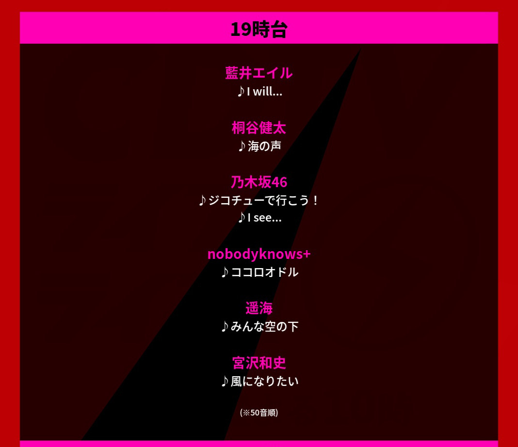 CDTVライブライブ 乃木坂46『ジコチューで行こう!』『I see...』