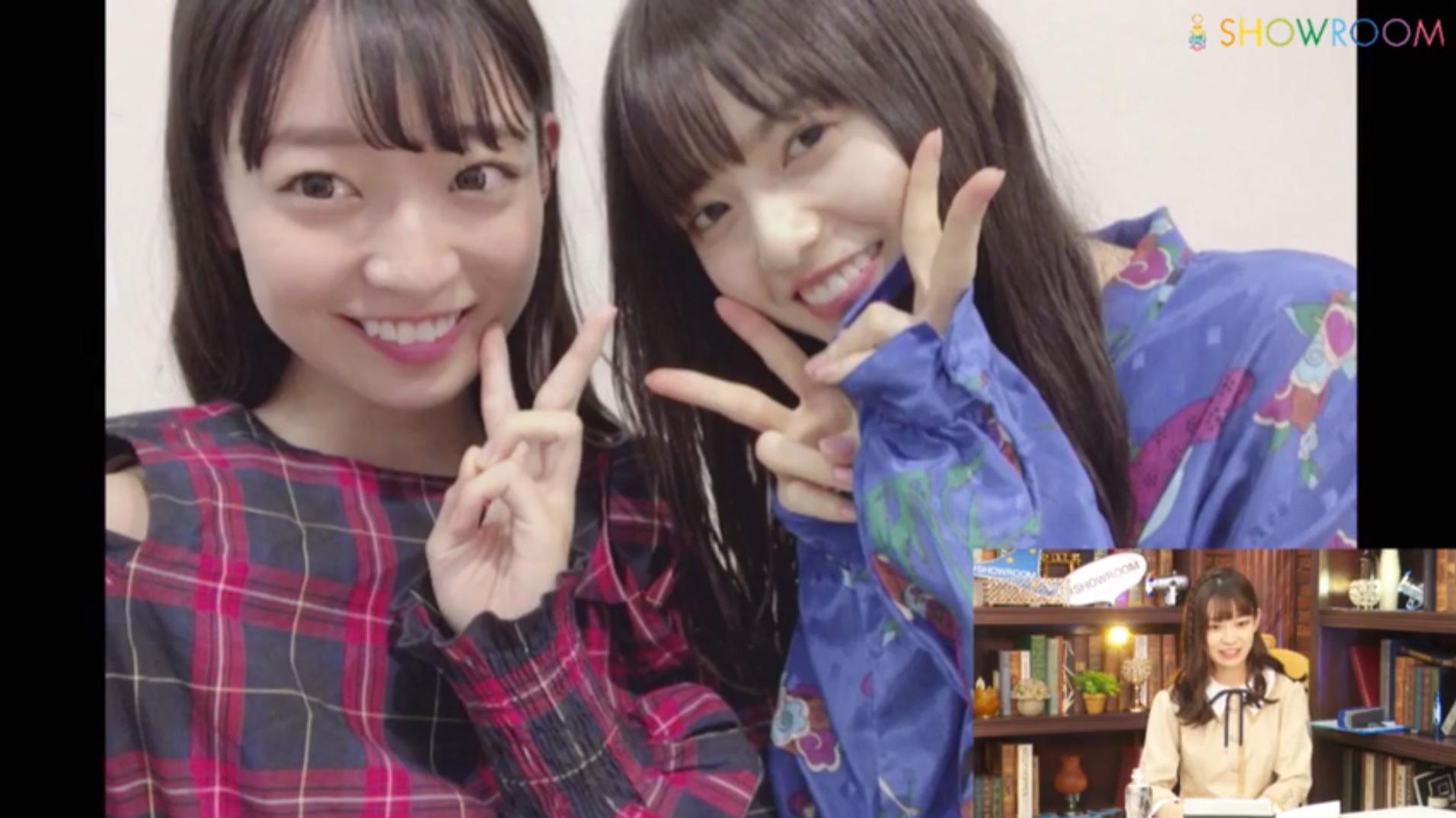 乃木坂46「猫舌SHOWROOM」大園桃子&阪口珠美