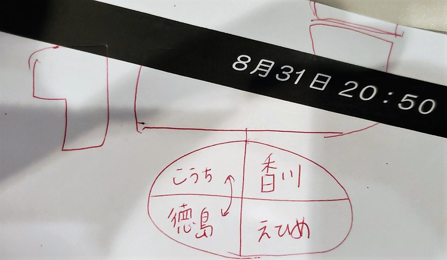 斉藤優里の考える四国