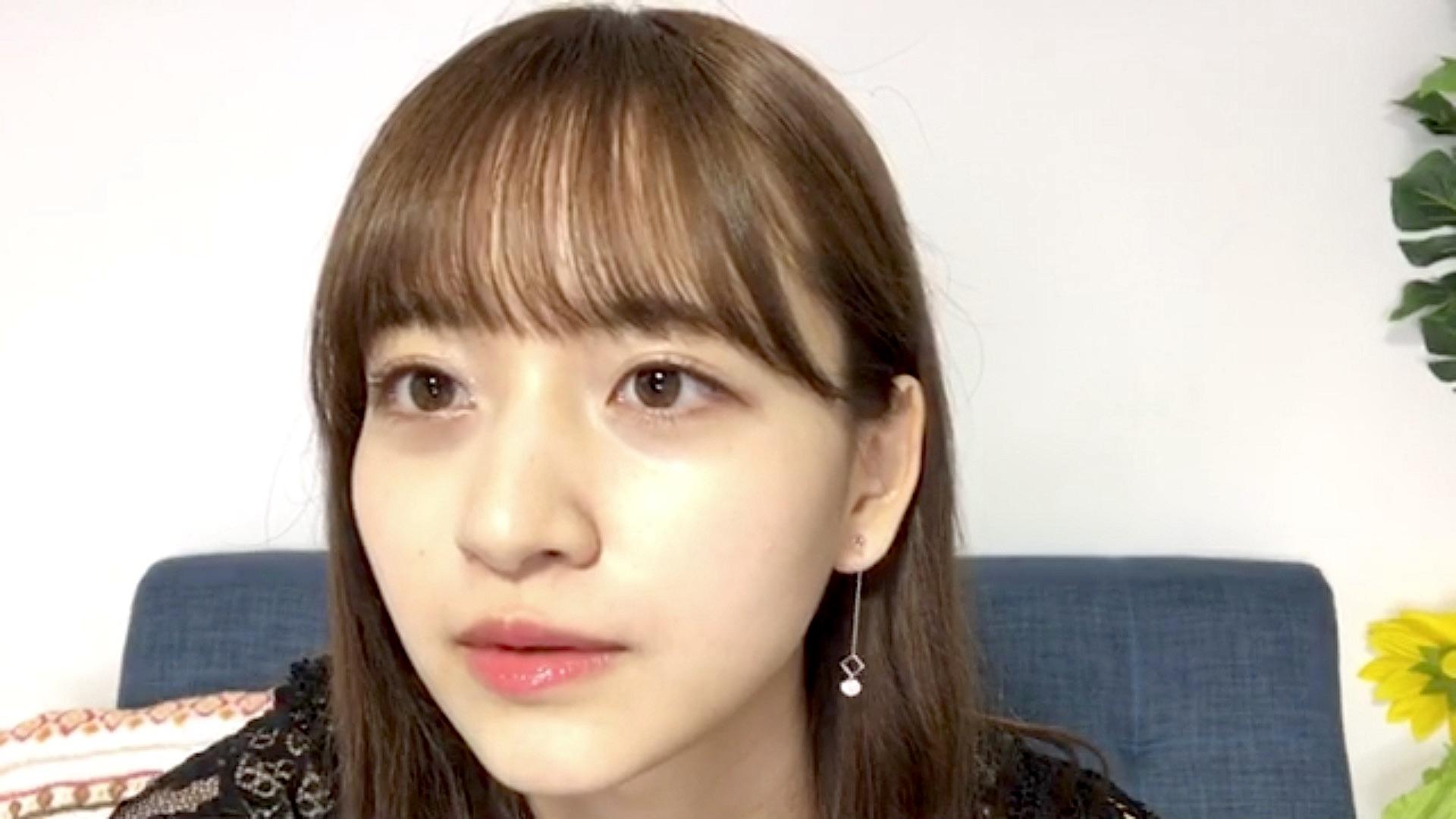 金川紗耶 茶髪