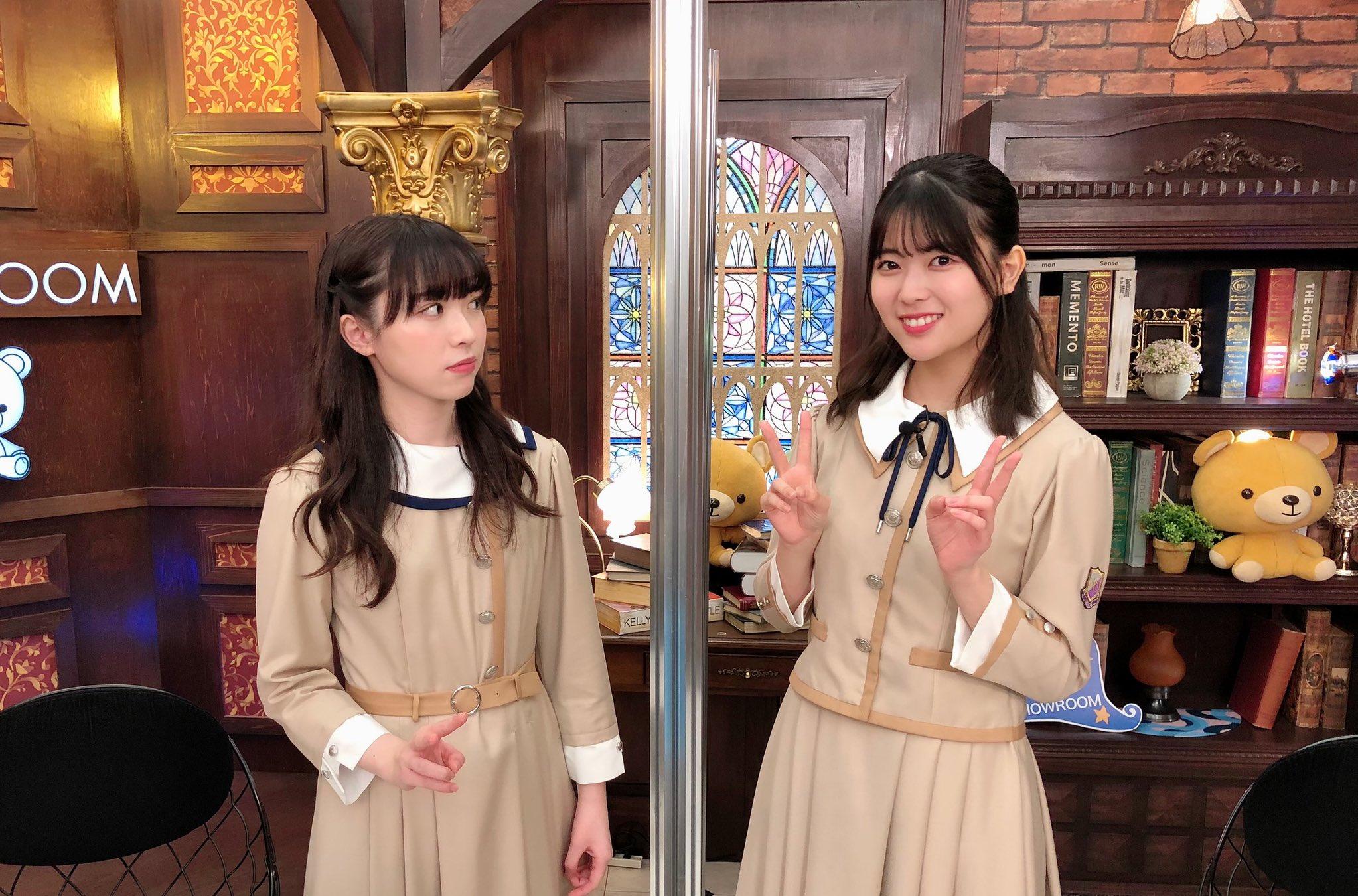 乃木坂46「猫舌SHOWROOM」 渡辺みり愛 岩本蓮加