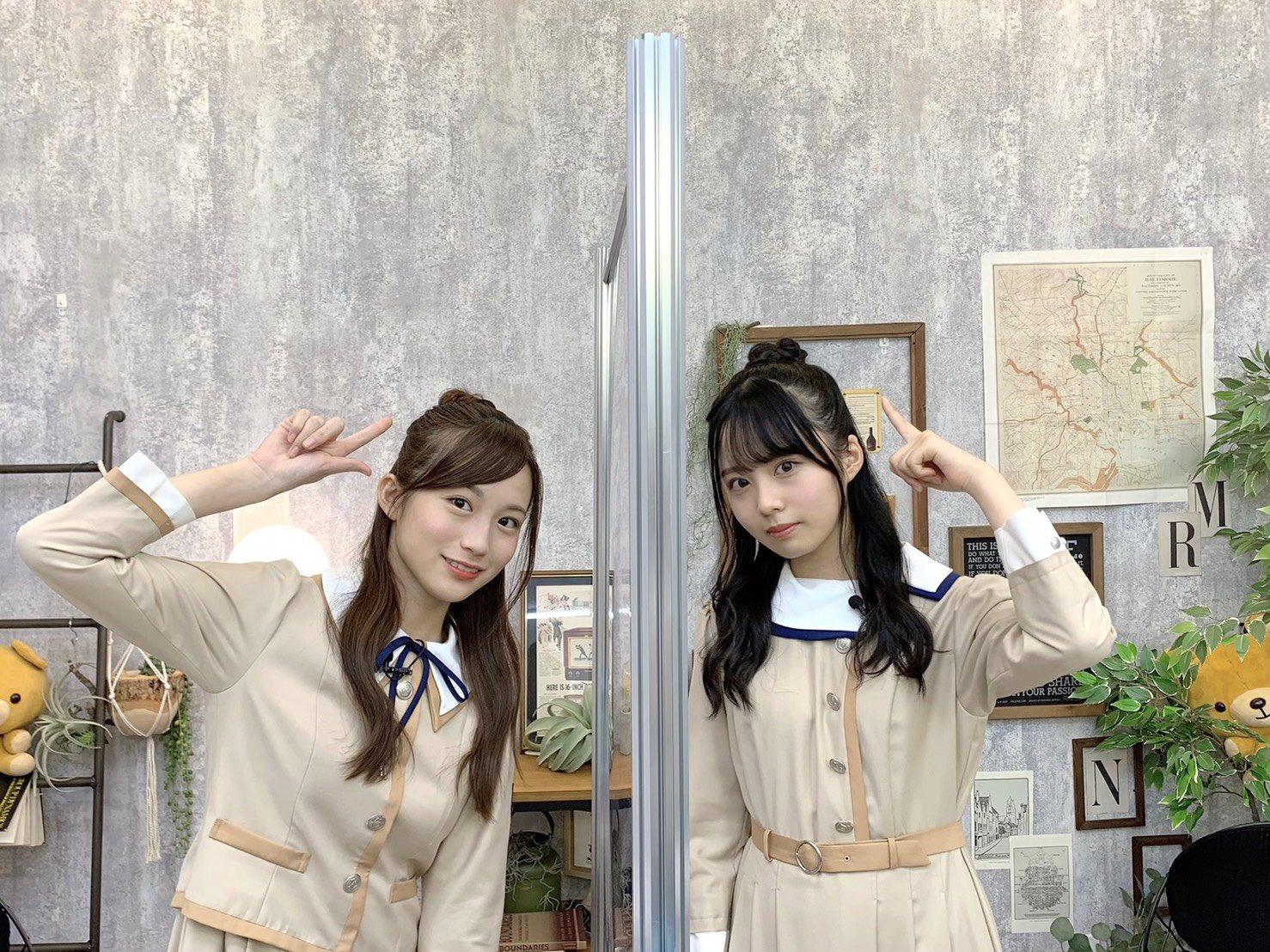 乃木坂46「猫舌SHOWROOM」 掛橋沙耶香 佐藤璃果