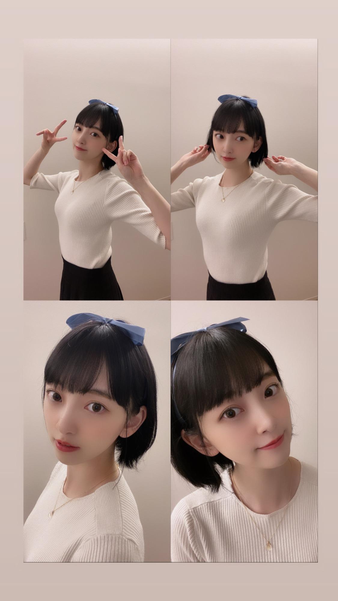 堀未央奈 更科瑠夏 コスプレ2