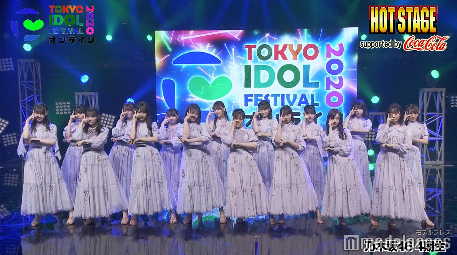 TIF2020 乃木坂46 制服のマネキン
