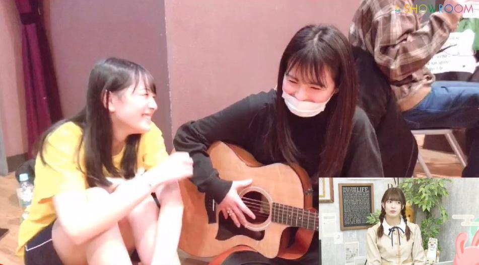 乃木坂46「猫舌SHOWROOM」 阪口珠美&吉田綾乃クリスティー