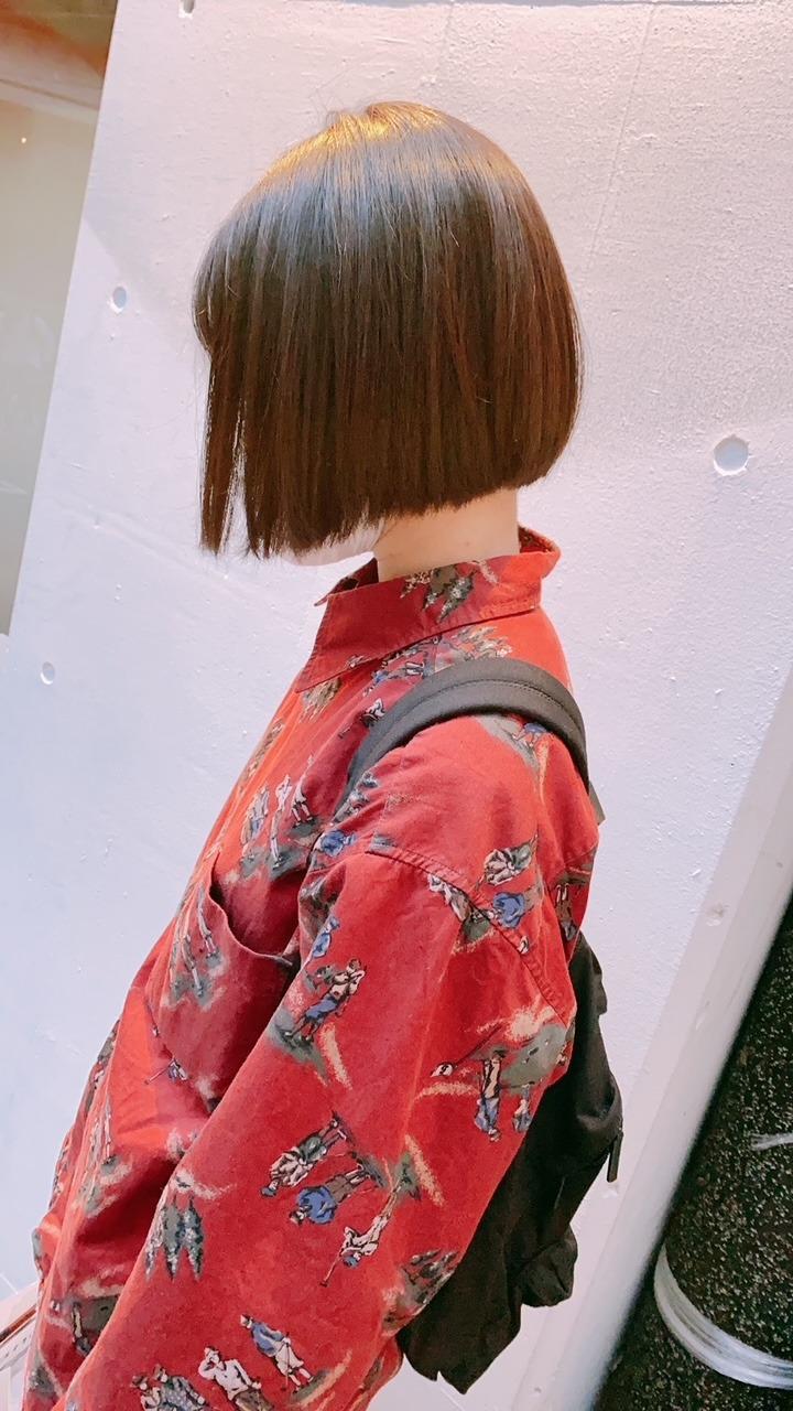 林瑠奈「髪を切りました」2