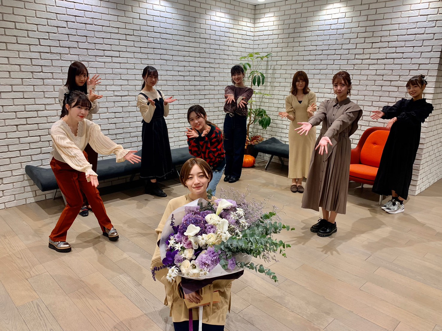 和田まあやブログ「かなりん卒業おめでとう」