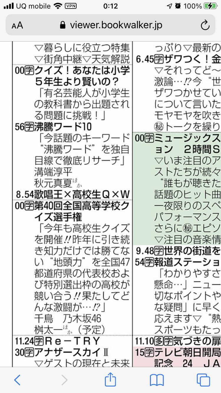 沸騰ワード10 秋元真夏