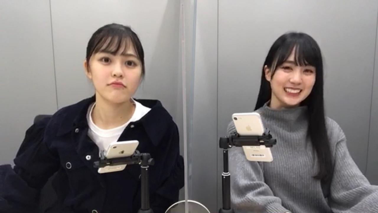 のぎおび 柴田柚菜 賀喜遥香