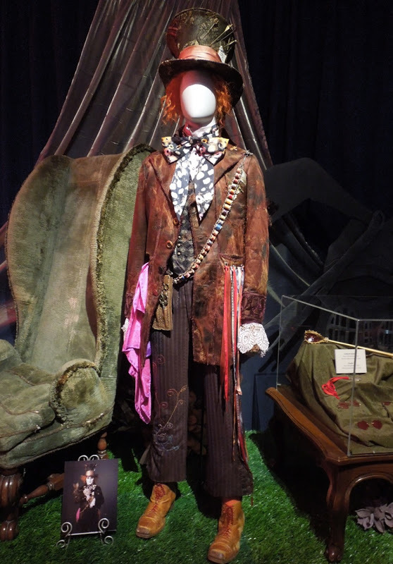 JohnnyDepp MadHatter costume