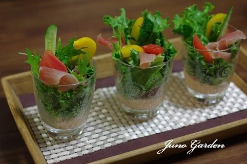 生野菜とスティックサラダ200423