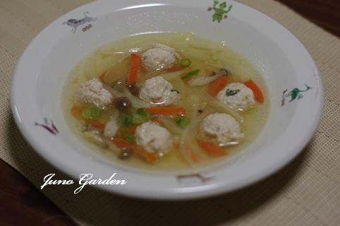 鶏団子スープ201217