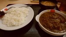 松屋カレー01