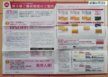 J.フロント リテイリング お買い物ご優待カード等01 202002