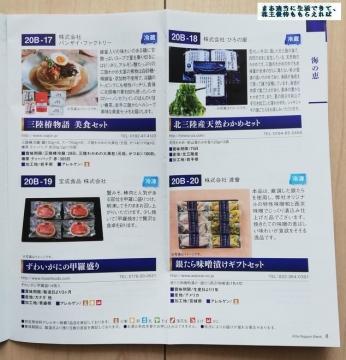 北日本銀行 優待カタログ03 202003