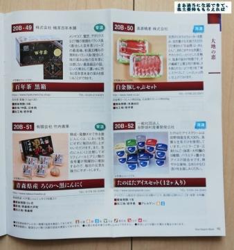 北日本銀行 優待カタログ11 202003