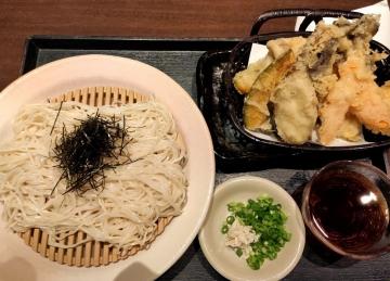 カッパクリエイト 北海道 生ひやむぎと彩り野菜の天ぷら02 2008 201909