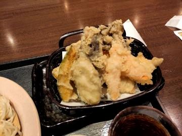 カッパクリエイト 北海道 生ひやむぎと彩り野菜の天ぷら03 2008 201909