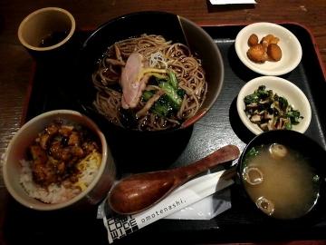 カッパクリエイト 三間堂 季節の蕎麦01 1910 201903