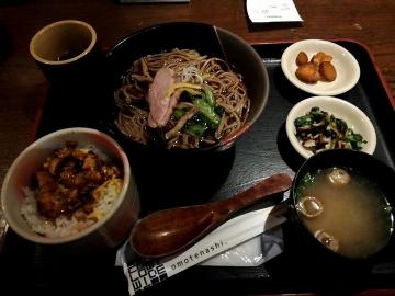 カッパクリエイト 三間堂 季節の蕎麦02 1910 201903