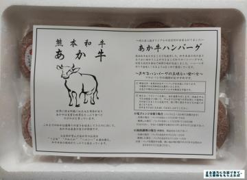 長瀬産業 熊本県 あか牛ハンバーグ8個 02 202003