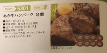 長瀬産業 熊本県 あか牛ハンバーグ8個 05 202003