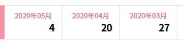 楽天インサイト 履歴 202005