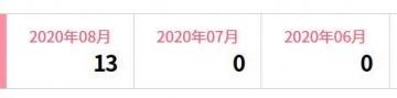 楽天インサイト 履歴 202008