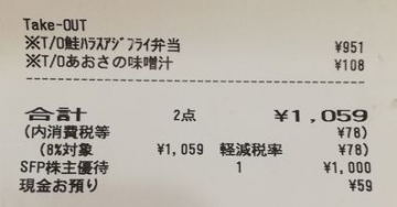 SFP HD 磯丸水産 鮭ハラスアジフライ弁当05 20050 201908