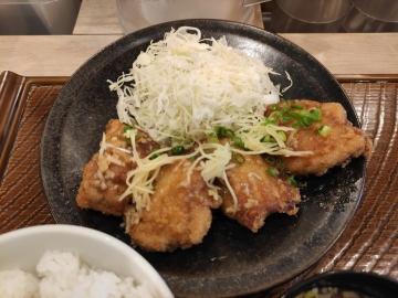 からよし 油淋鶏定食02 2006 201912