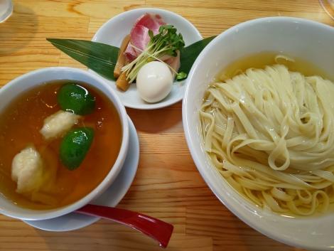 白醤油つけ麺
