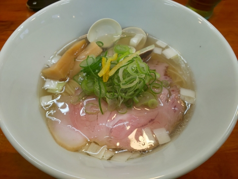 金目鯛と蛤塩らぁ麺