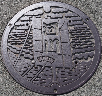 静岡県浜松市河川マンホール