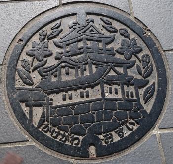 静岡県掛川市マンホール
