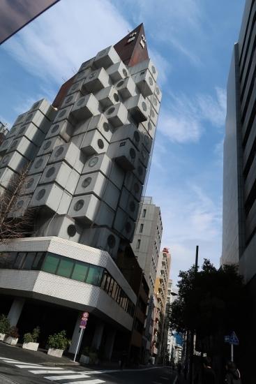 東京 中銀カプセルタワービル