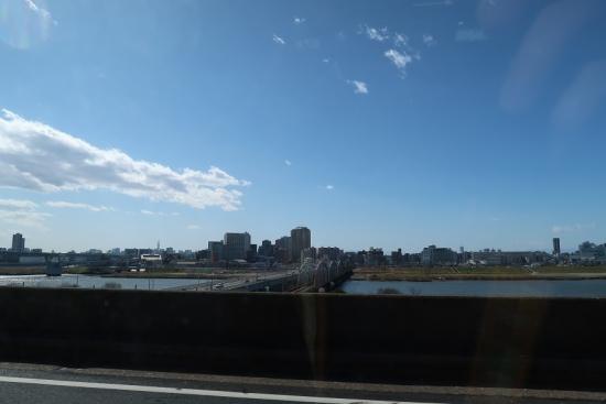 首都高から東北道