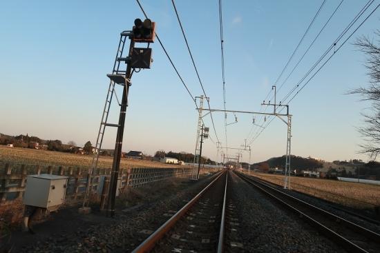 東武日光線 線路