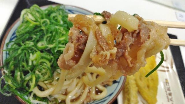 高崎肉ぶっかけうどん (1)