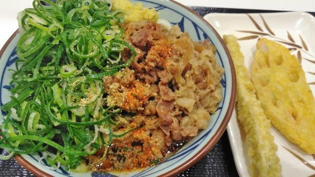 高崎肉ぶっかけうどん (2)