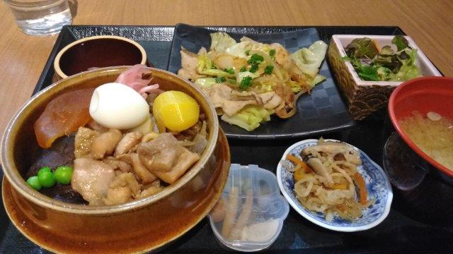 釜飯セット豚生姜 (2)
