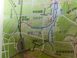 蟹川流路 新宿駅東口記事2