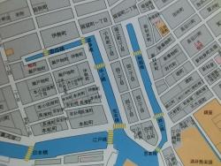 古地図 2つの掘割 堀留町・小舟町散策1