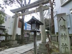中目黒八幡神社 中目黒散策記事