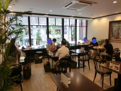 2階店内 カフェーパウリスタ記事