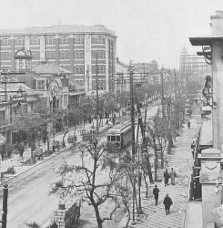 1920年代頃の銀座 カフェーパウリスタ記事