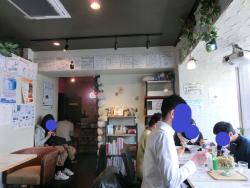 店内の様子 ブンブンブラウカフェ記事